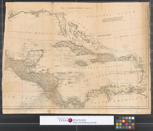 Primary view of North America : Performed under the patronage of Louis Duke of Orleans, First Prince of the Blood [Sheet 3].