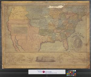 Primary view of object titled 'Map of the United States : compiled from the most authentic sources.'.