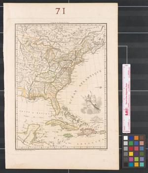 Primary view of object titled 'États Unis et Grandes Antilles.'.