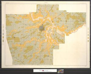 Primary view of object titled 'Soil map, Illinois, Sangamon County sheet.'.