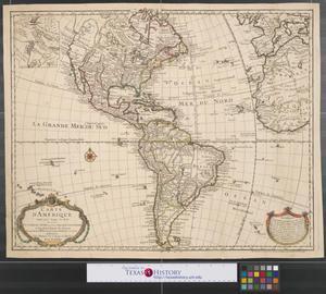 Primary view of Carte d'Amérique dressée pour l'usage du roy en 1722.