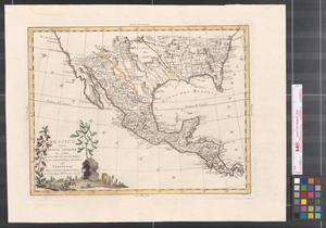 Primary view of Messico, ouvero Nuova-Spagna : che contiene il Nuovo Messico, la California con una parte de' paesi adjacenti.