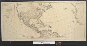 Primary view of L'Amérique septentle. : qui comprend les XII provinces-unies la Canada, la Louisiane, le Méxique, ou la nlle. Espagne, le nouveau Méxique et les illes Antilles.