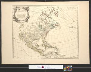 Primary view of Amerique septentrionale : dressée sur les relations les plus modernes des voyageurs et navigateurs, et divisée suivant les differentes possessions des Européens