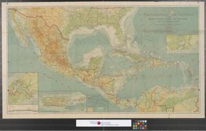Primary view of object titled 'The countries of the Caribbean : including Mexico, Central America, the West Indies and the Panama Canal.'.