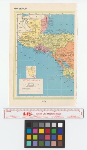 Primary view of object titled '[Maps of Central America and Mexico]'.