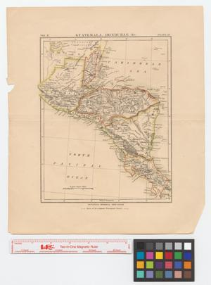 Primary view of object titled 'Guatemala, Honduras, &c.'.