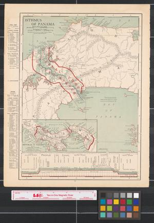 Primary view of object titled 'Isthmus of Panama.'.