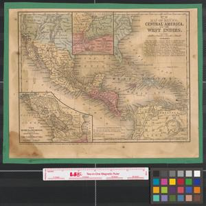 Primary view of Map of Mexico, Central America, and the West Indies