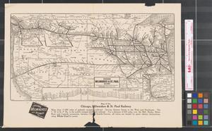 Primary view of object titled 'Chicago, Milwaukee & St. Paul Railway to Puget Sound - electrified.'.