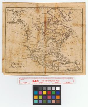 Primary view of North America: engraved for Walker's geography &c.