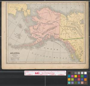 Primary view of object titled '[Maps of Alaska, Nova Scotia and New Brunswick]'.