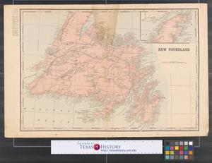 Primary view of object titled '[Maps of New Foundland, New Brunswick, and Nova Scotia]'.