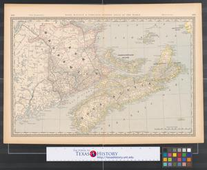 Primary view of object titled 'Nova Scotia [and] New Brunswick.'.