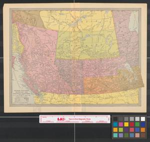Primary view of object titled 'British Columbia, Manitoba, and the Northwest Territories.'.