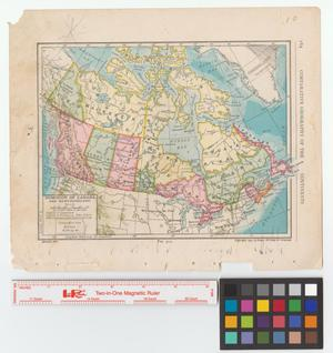 Primary view of object titled 'Dominion of Canada and Newfoundland.'.