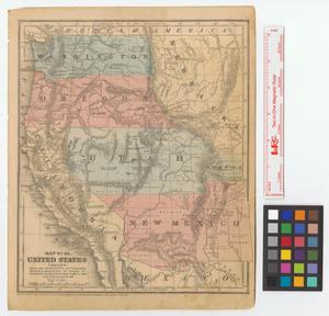 Primary view of object titled 'Map No. 10, United States.'.