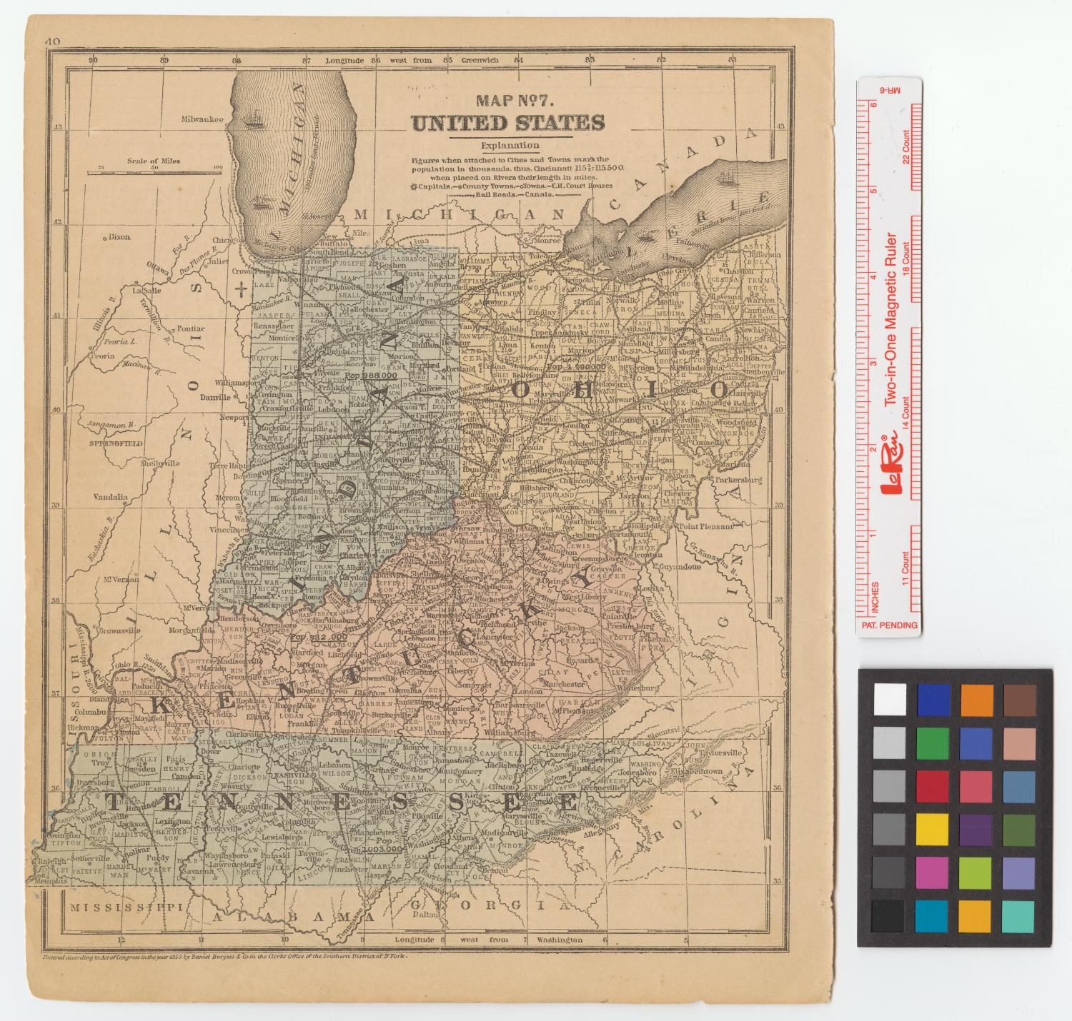 Map No. 7, United States.                                                                                                      [Sequence #]: 1 of 2