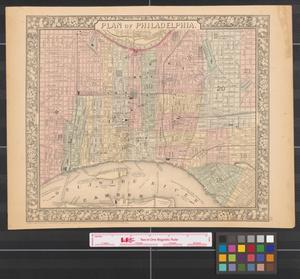Primary view of Plan of Philadelphia.