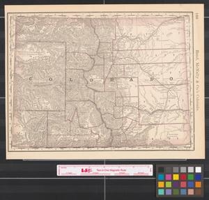 Primary view of object titled 'Rand, McNally & Co.'s Colorado.'.