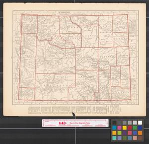 Primary view of object titled '[Maps of Wyoming and Colorado]'.