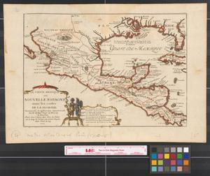 Primary view of Le vieux Mexique ou, : Nouvelle Espagne avec les costes de la Floride faisant-partie de l'Amerique septentrionate.