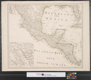 Primary view of object titled '[Map of the interior of North America and New Spain: Sheet 1]'.