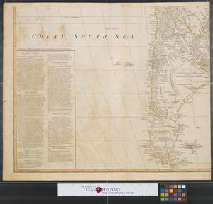 Primary view of object titled 'A map of South America : containing Tierra-Firma, Guayana, New Granada, Amazonia, Brasil, Peru, Paraguay, Chaco, Tucuman, Chili and Patagonia [Sheet 2].'.