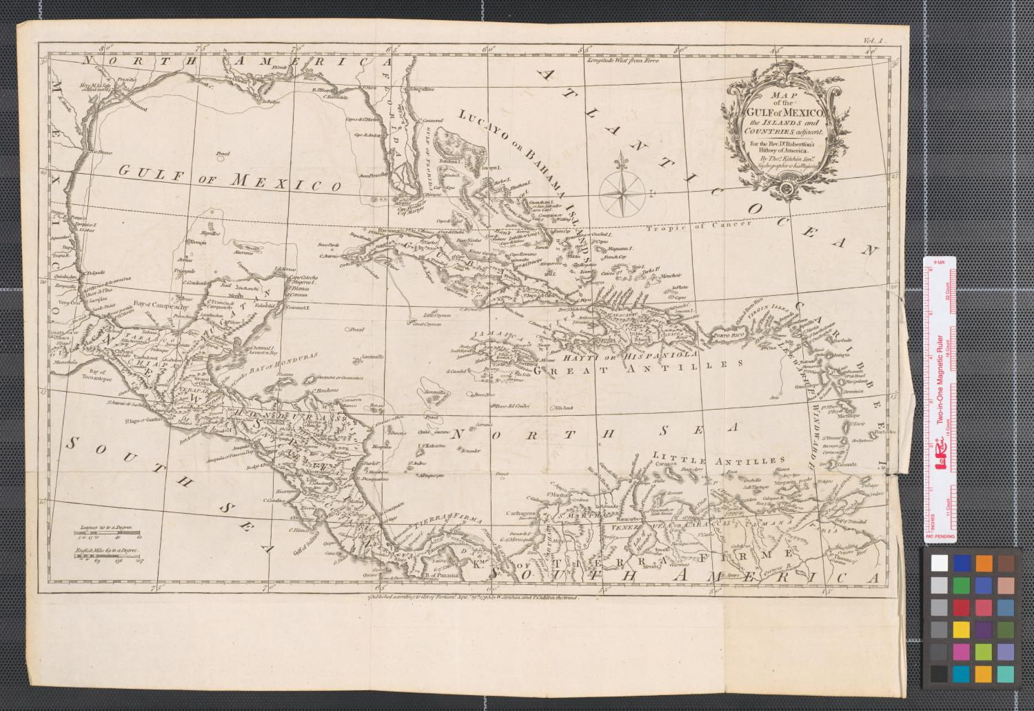 Map of the gulf of mexico the islands and countries adjacent map of the gulf of mexico the islands and countries adjacent for the rev dr robertsons history of america the portal to texas history sciox Gallery