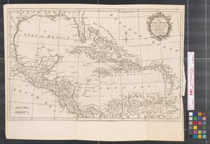 Primary view of Map of the Gulf of Mexico, the islands and countries adjacent : for the Rev. Dr. Robertson's History of America.