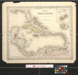 Primary view of object titled 'Colton's West Indies.'.