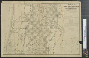 Map no. 2 of western Oregon showing the lands of the Oregon ...