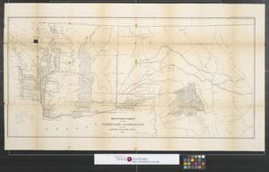 Primary view of object titled 'Map of public surveys in the territory of Washington for the Report of Surv: Genl:, 1862.'.