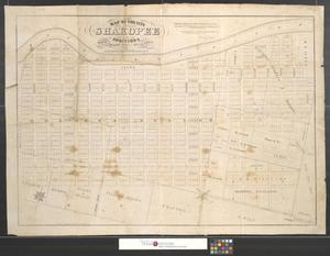 Primary view of object titled 'Map of the city of Shakopee and additions, Scott County, Minnesota.'.