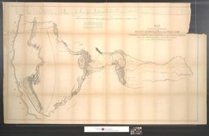 Primary view of object titled 'Map of an exploring expedition to the Rocky Mountains in the year 1842 and to Oregon & North California in the years 1843-44.'.