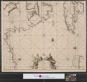 Primary view of Pas kaart van de boght van Florida: met de canaal tusschen Florida en Cuba door Vooght geometra t Amsterdam.