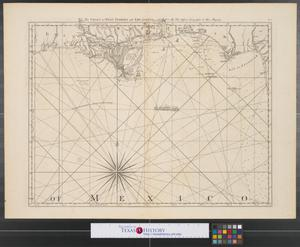 Primary view of object titled 'The coast of West Florida and Louisiana.'.