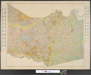Primary view of object titled 'Soil Map, Texas, Harrison County sheet.'.