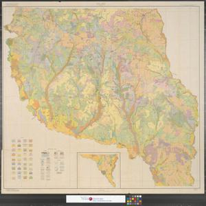 Primary view of object titled 'Soil map, Nacogdoches County Texas.'.