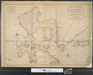 Primary view of Carte particuliére de l'Amerique Septentrionale : ou sont compris le destroit de Davids, le destroit de Hudson, &c
