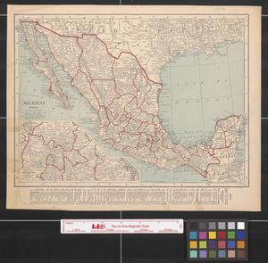 Primary view of object titled '[Maps of Mexico and Alaska]'.