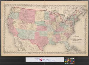 Primary view of object titled 'Colton's United States of America.'.