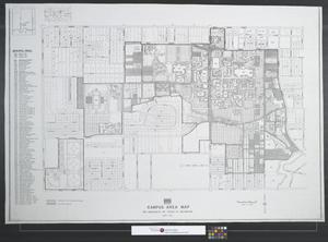 Primary view of object titled 'UTA campus area map.'.