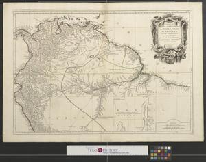 Primary view of Carte du Pérou et Brésil sepl. de Tierre - Firme, de Guayana, et de la rivière des Amazones : ce qui fait la partie boréale de L'Amérique Meridiole [South America - Sheet 1].