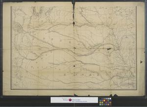 Primary view of object titled '[Map of Nebraska and Dakotah Territory]'.
