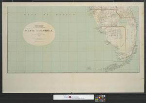Primary view of object titled 'State of Florida [Sheet 2].'.