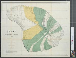 Primary view of object titled 'Lanai : Government Survey, 1878.'.