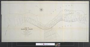 Primary view of object titled 'Chart of Sabine Pass, Texas : From the survey of December, 1889, made under the direction of Captain W. L. Fisk.'.
