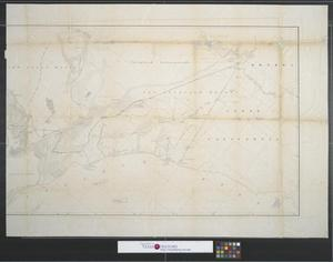 Primary view of object titled 'General map of a survey in California in connection with examinations for railroad routes to the Pacific Ocean [Sheet 2].'.