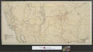 Primary view of object titled 'The Atchison, Topeka and Santa Fe Railroad system.'.